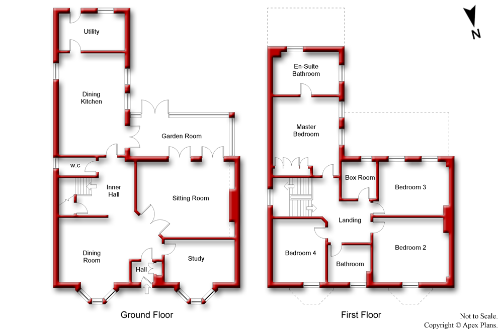 Apex plans examples professional property floor plans for Floor plans for estate agents